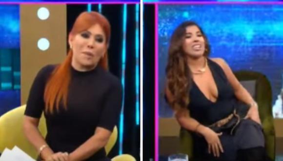 Yahaira Plasencia y Magaly Medina protagonizaron tensos momentos debido a sus escándalos. (Foto: Captura ATV)