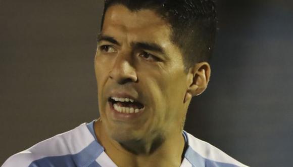 Luis Suárez dio positivo a la prueba de coronavirus. (Foto: AFP)