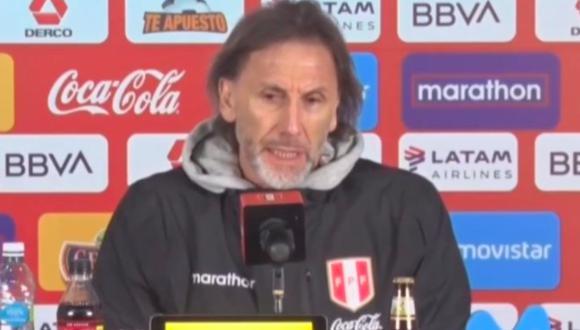 El DT de la selección peruana, Ricardo Gareca se refirió a los últimos hechos en el Perú, en donde la gente no ha cumplido al 100% con las reglas que ha impuesto el gobierno de Martín Vizcarra