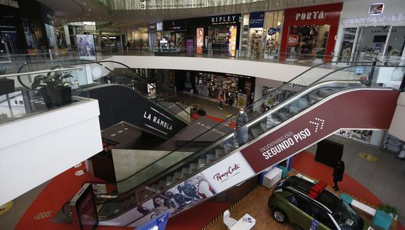 Los centros comerciales abrirán nuevamente sus puertas. (Foto: Francisco Neyra | GEC)