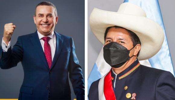 El exministro le 'agradece' a Pedro Castillo tras el aumento del precio del gas.