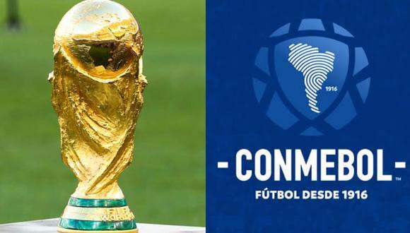 Conmebol rechaza propuesta de la FIFA sobre la Copa del Mundo. (Foto: Composición)
