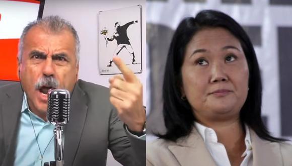 El periodista de Exitosa se refirió al pedido de auditoria internacional de Keiko Fujimori por supuesto 'fraude' electoral en la Segunda Vuelta de las Elecciones 2021.