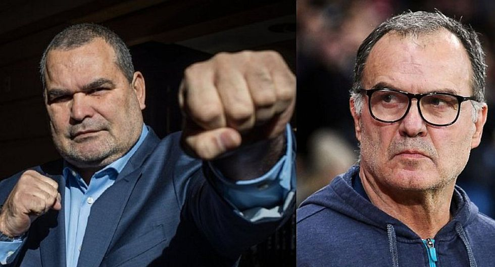 Marcelo Bielsa: Jose Luis Chilavert le pega con todo a técnico de Leeds United