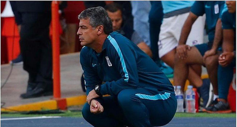 """Alianza Lima: """"Jugamos bien"""", dijo Bengoechea tras empate con Comerciantes"""
