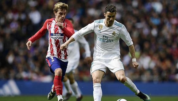 Real Madrid empató 1 a 1 contra Atlético de Madrid en el 'Derbi'