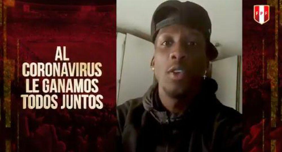 Paolo Guerrero inició el video solicitando precaución y solidaridad. (Video: FPF)