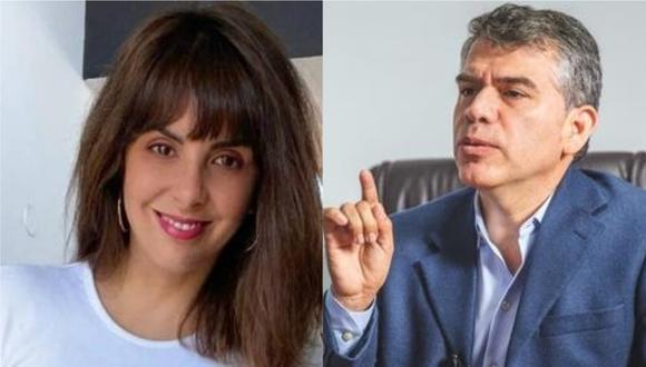 Carla García calificó de llorón a Julio Guzmán.