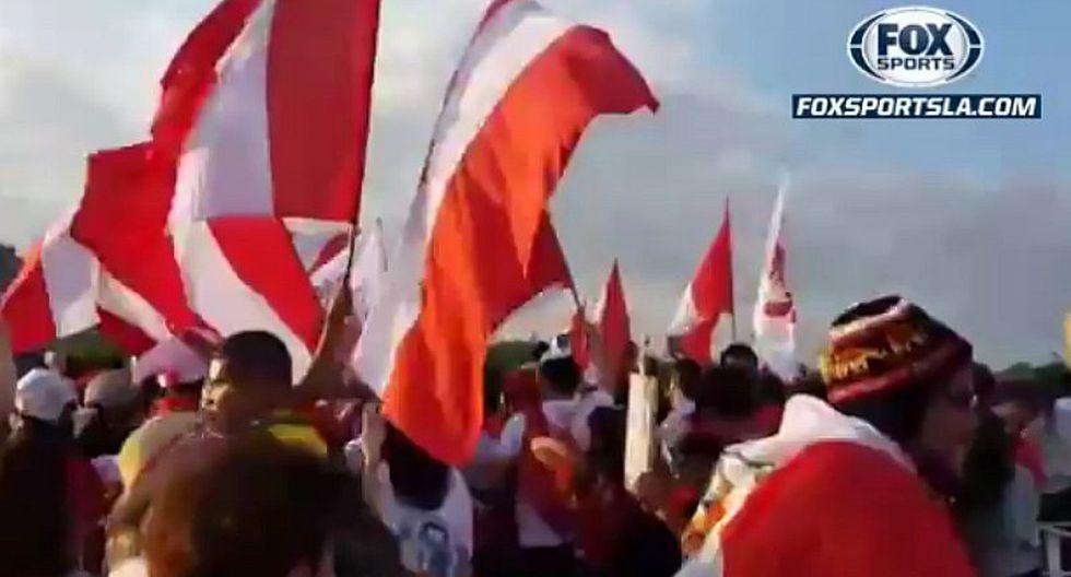 Perú vs. Bolivia: la impresionante llegada de hinchas de la 'blanquirroja' al Maracaná   VIDEO