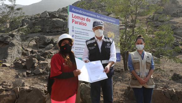 Entregan obra de acondicionamiento turístico que operará tras pandemia por COVID-19. (Foto: Municipalidad de Lima)