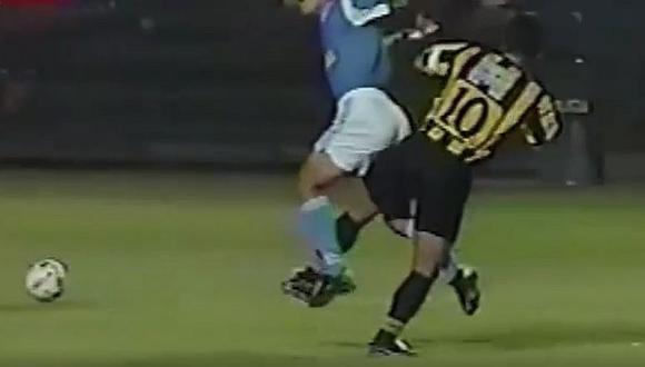 Pablo Bengoechea y el día casi 'rompe' a Jean Ferrari en un Sporting Cristal-Peñarol   VIDEO