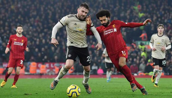 Liverpool vs. Manchester United se miden en el clásico inglés por la fecha 19 de la Premier League. (Foto: AFP)