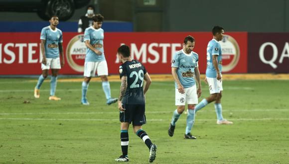 Sporting Cristal no supo aprovechar las chances que le dio Racing y el conjunto de Pizzi ganó el duelo por 2-0 dejándolo en el último lugar de su grupo de la Copa Libertadores.