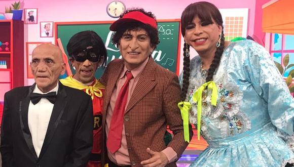 """'Felpudini' reapareció en la televisión para poner la cuota de humor en """"El Reventonazo de la Chola"""". (Foto: Difusión)"""