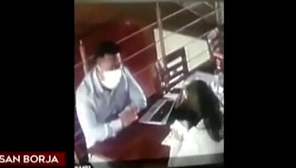 Una nueva modalidad de robo a través de una falsa entrevista de trabajo ocurrió en una pollería situada en San Borja. (Captura: América Noticias)