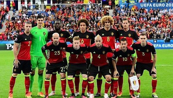 Bélgica presentó su camiseta alterna de una forma nunca antes vista [FOTOS]