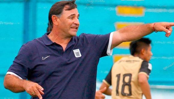 Carlos Bustos es entrenador de Alianza Lima desde inicios de este 2021. (Foto. Liga de Fútbol Profesional)