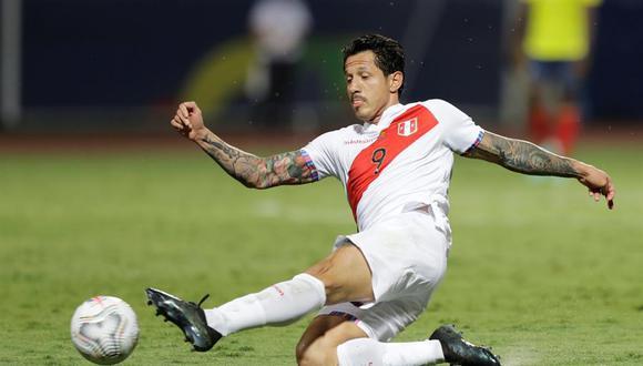 Lapadula ha sido titular en cada presentación peruana en la Copa América. (Foto: EFE)