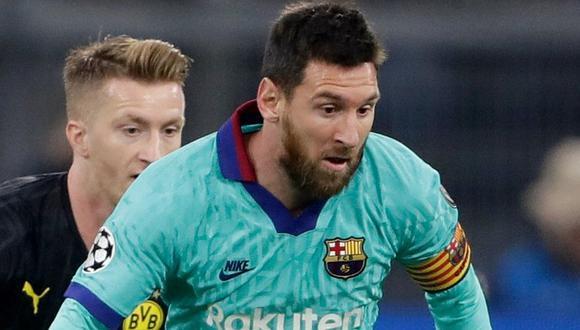 Vía Movistar Liga de Campeones: Barcelona igualó ante Dortmund en su debut por la Champions League 2019-2020
