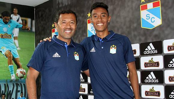 Hijo de Roberto Palacios jugará en UTC de Cajamarca