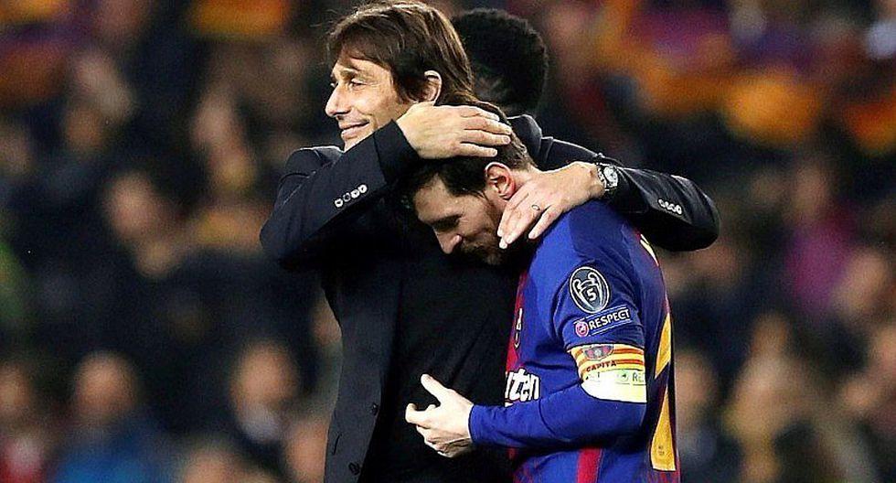"""Antonio Conte: """"Cada 50 años nace un jugador como Messi"""""""