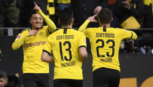Borussia Dortmund vs. Padeborn: chocan por la jornada 29 de la Bundesliga. (Foto: AFP)