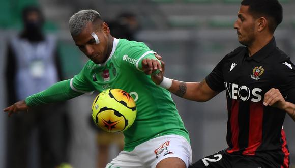 Trauco jugó por última vez contra Niza el 18 de octubre. (Foto: AFP)