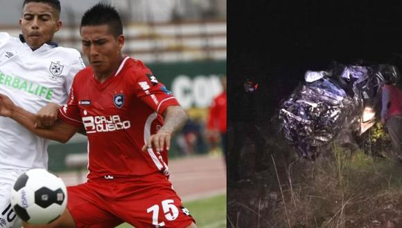 Jugador cusqueño y su prima pierden la vida en accidente de carretera (Foto: GEC)