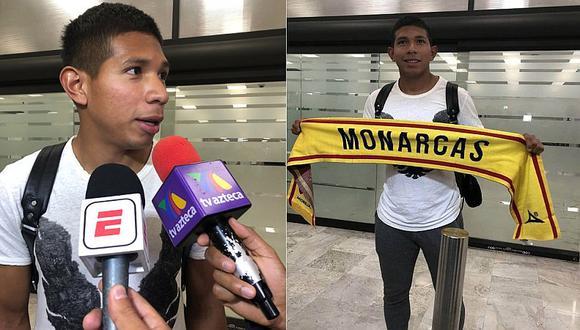 Edison Flores arribó a México para unirse al Monarcas Morelia [FOTO]