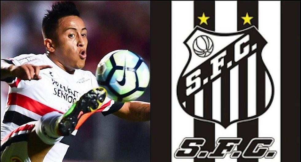 Christian Cueva ahora es pretendido por el Santos del Brasileirao