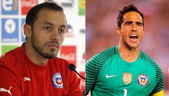 Copa Confederaciones: esto dijo Claudio Bravo sobre error de su compañero [VIDEO]