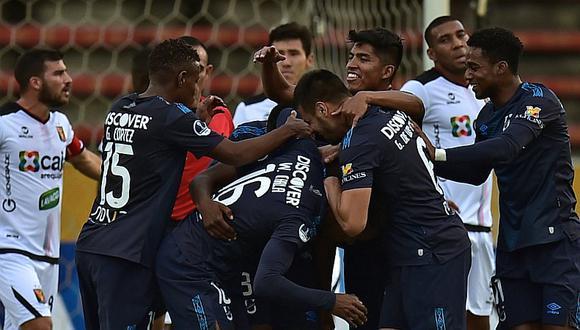 Universidad Católica de Ecuador goleó 6-0 a Melgar y tiene un pie en octavos de final de la Copa Sudamericana