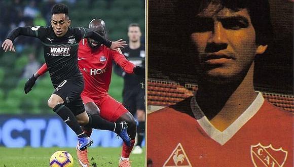 """Franco Navarro: """"Cueva puede aportarle mucho a Independiente"""""""