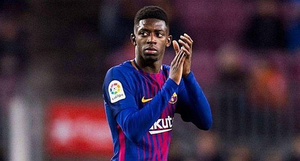 Dembelé: alarma en el Barcelona por nueva lesión