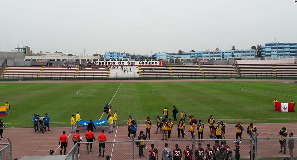 Perú vs. Colombia EN VIVO: Estadio Miguel Grau luce desolado en el amistoso de la Sub de Nolberto Solano | VIDEO