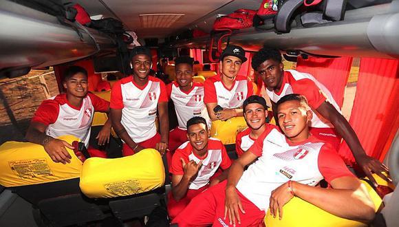 Selección Peruana ya concentra en Chile para debut en Sudamericano Sub 20
