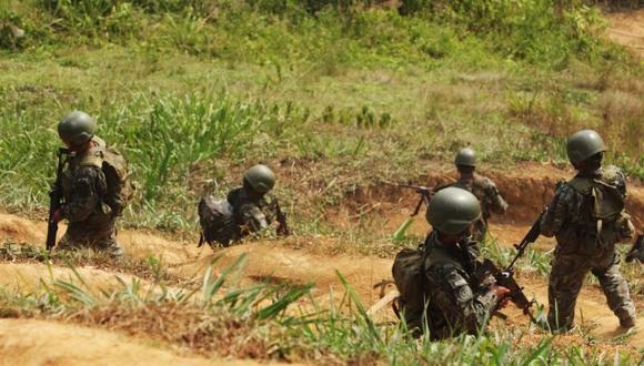 Vraem: Fuerzas Armadas abaten a terrorista durante enfrentamiento en el Vizcatán del Ene. (GEC)