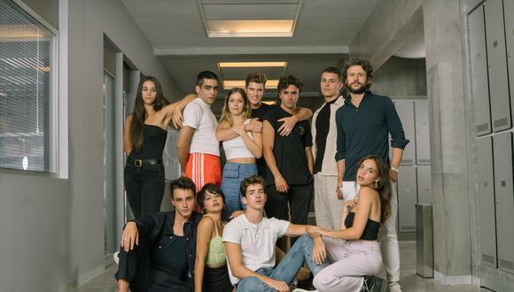 """Netflix reveló a los nuevos integrantes del nuevo elenco de """"Élite"""". (Foto: Netflix)"""