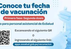 ▷ Vacuna COVID: consulta la app e inscripción en EsSalud TE CUIDA