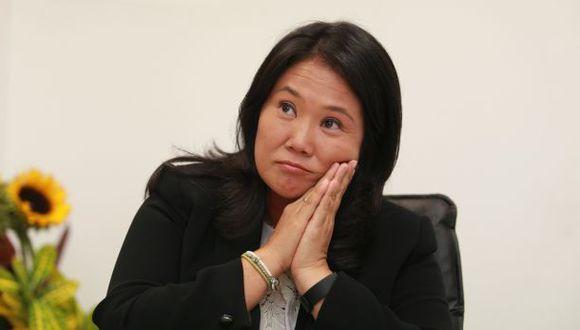 Keiko Fujimori deseó éxitos al nuevo gabinete presidido por Pedro Cateriano. (Foto: GEC)