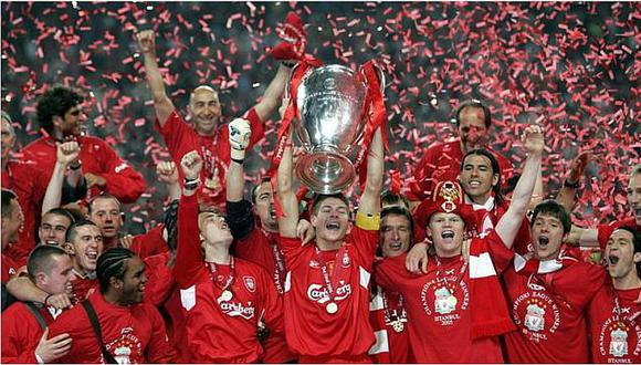 Steven Gerrard: Recuerda la Champions League que ganó con Liverpool
