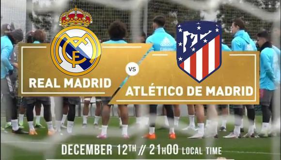Real Madrid vs. Atlético de Madrid: se ven las caras en el Alfredo di Stéfano.