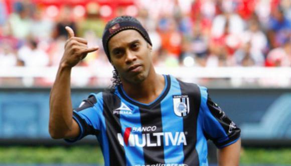 Ronaldinho finalizó contrato con Querétaro