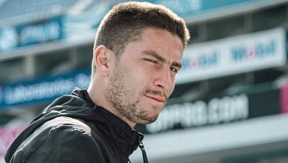 Santiago Ormeño es jugador de Puebla desde esta temporada. (Foto: Club Puebla)
