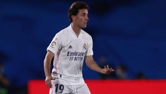 Álvaro Odriozola tiene contrato en Real Madrid hasta el 2024. (Foto: Real Madrid)
