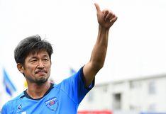 Kazu Miura, el futbolista japonés que inspiró a Oliver Atom de 'Supercampeones', renovó contrato a los 52 años | VIDEO