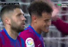 Philippe Coutinho volvió al gol: brasileño sentenció el Barcelona-Valencia   VIDEO