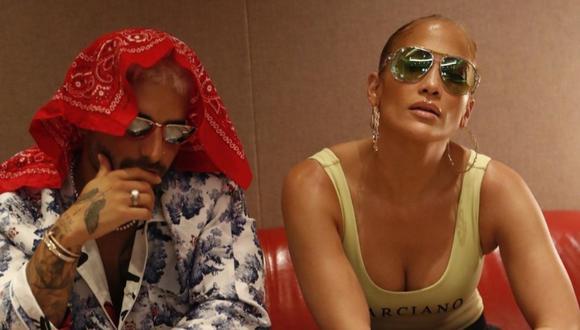 Jennifer Lopez y Maluma emocionan a sus fans tras protagonizar portada de la revista Billboard. (Foto: @jlo)