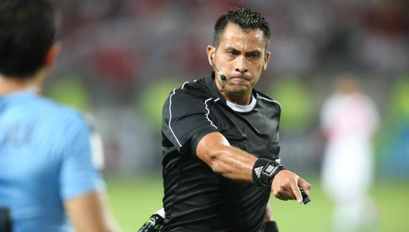 Julio Bascuñán sería el encargado del Colo Colo vs. U. de Concepción. (Foto: GEC)
