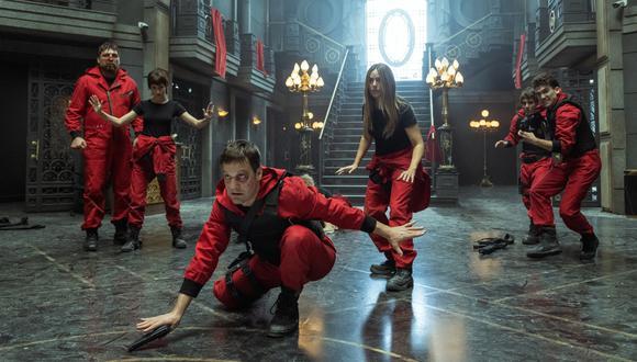 Falta poco para que se estrene la quinta temporada de La Casa de Papel, y Netflix ha revelado nuevas imágenes de la serie. Foto: Netflix.
